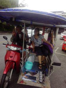 Keliling Phuket town naik gerobak