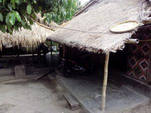 rumah tradisioanl di desa Sage