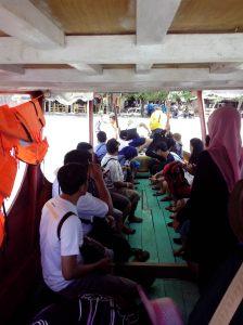Boat ke Gili Trawangan