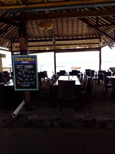 Cafe pinggir pantai